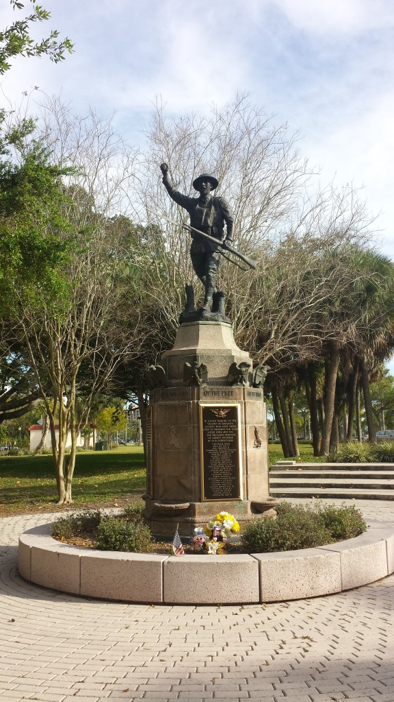 Fig. 7 Sarasota's War Memorial in 2015.