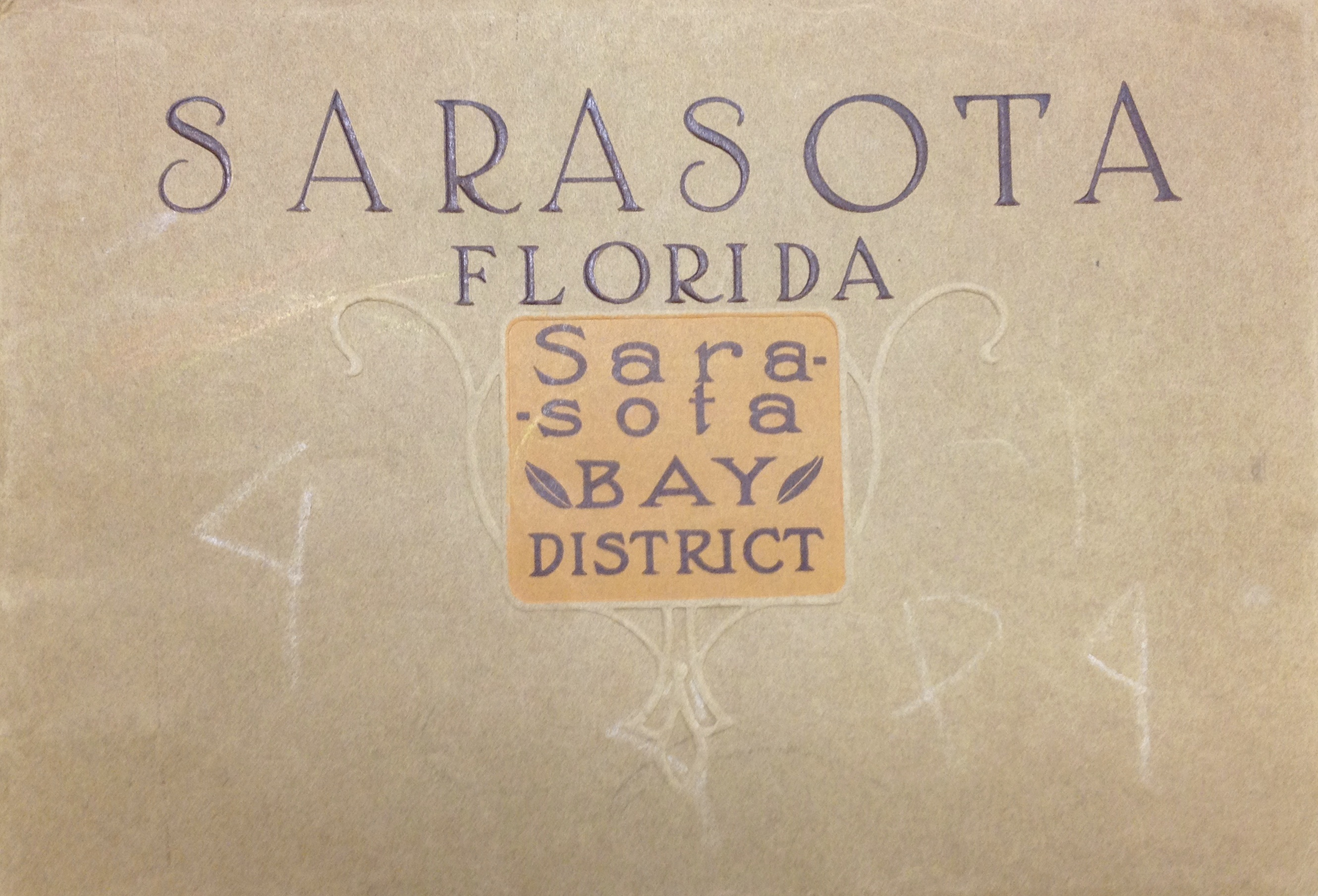 Sarasota, Florida and the Sarasota Bay District of Manatee County Brochure